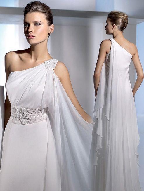 Eccezionale Abito da sposa 12 - stile peplo (greco) - Moda nozze - Forum  VU42