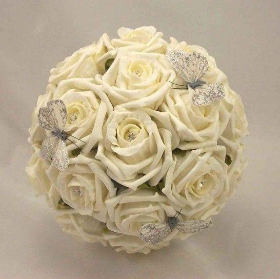 il bouquet della sposa, gioiello, colore bianco 1