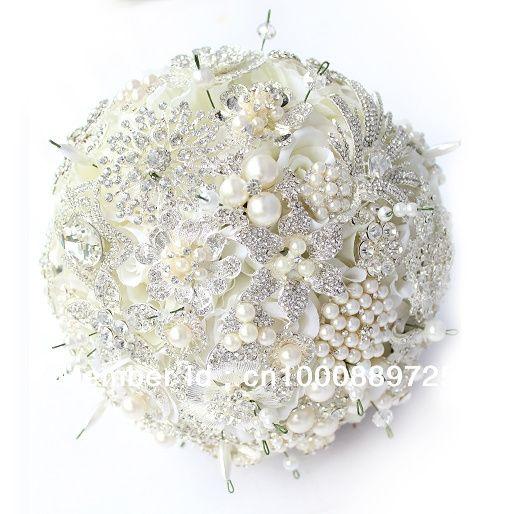 il bouquet della sposa, gioiello, colore bianco 2