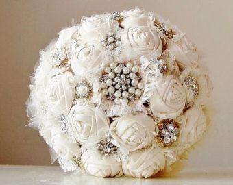 il bouquet della sposa, gioiello, colore bianco 3