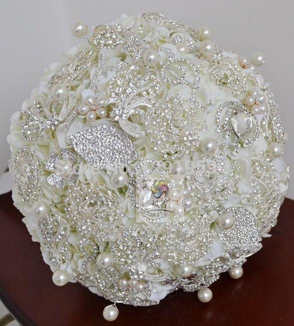 il bouquet della sposa, gioiello, colore bianco 4