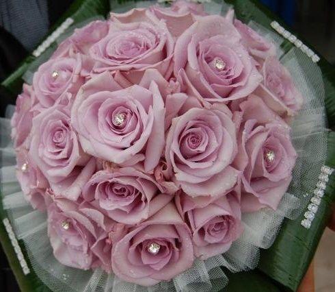 il bouquet della sposa, gioiello, colore rosa 2