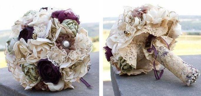 il bouquet della sposa, gioiello, colore glicine, viola 2