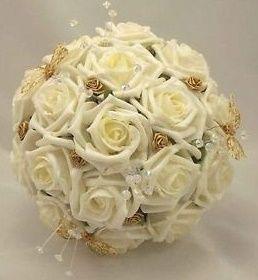 il bouquet della sposa, gioiello, colore oro 1