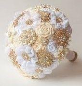 il bouquet della sposa, gioiello, colore oro 6