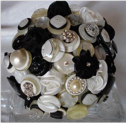 il bouquet della sposa, gioiello, colore nero 2