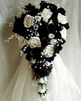 il bouquet della sposa, gioiello, colore nero 6