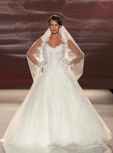 abito da sposa, stile bustier 1