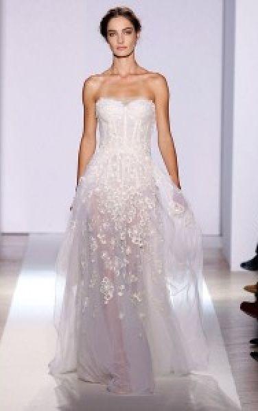 abito da sposa, stile bustier 3