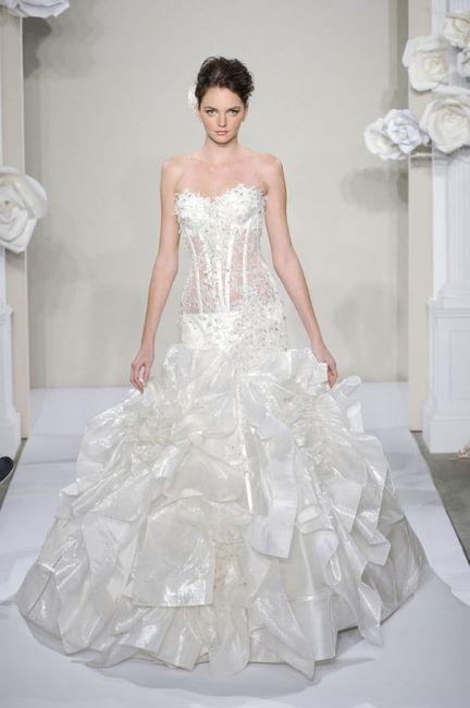 abito da sposa, stile bustier 18