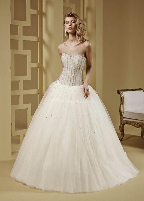 abito da sposa, stile bustier 20
