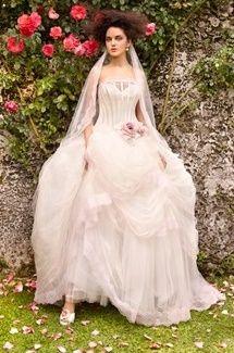 abito da sposa, stile bustier 22