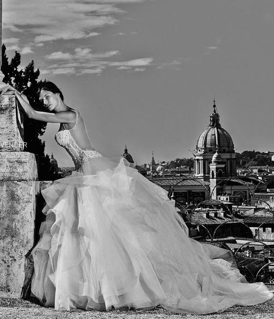 abito da sposa, stile bustier 23
