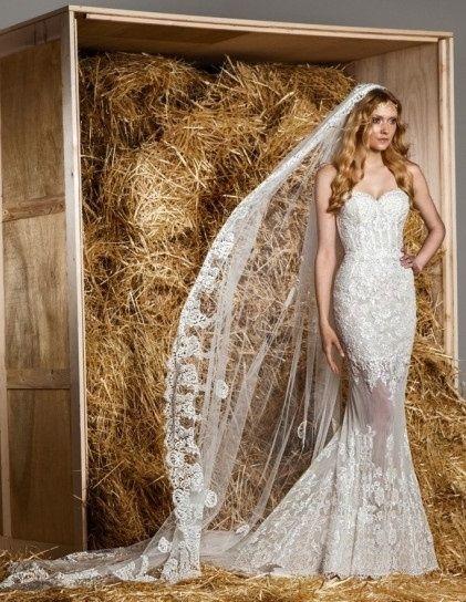 abito da sposa, stile bustier 24