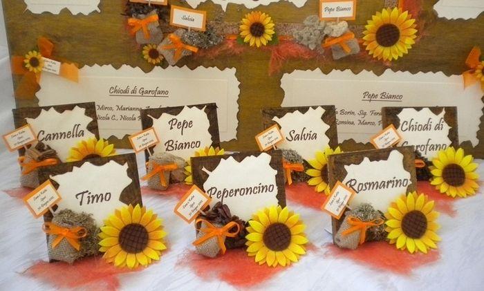 Tableau Matrimonio Girasoli : Tableau marriage sunflower girasoli foto