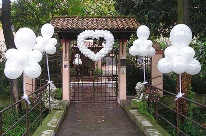 Decorazioni matrimonio fiabesco palloncini for Decorazioni per casa