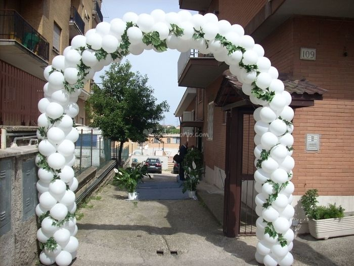 Decorazioni matrimonio fiabesco palloncini - Decorazioni per matrimonio ...