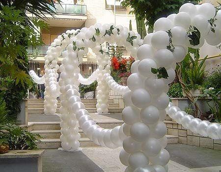 Decorazioni nuziali matrimonio palloncini casa 3 foto for Decorazioni nuziali