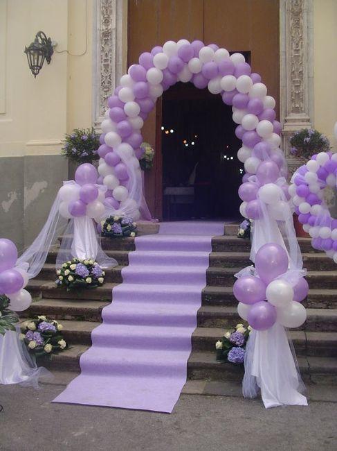Decorazioni matrimonio fiabesco palloncini organizzazione matrimonio forum - Decorazione archi in casa ...