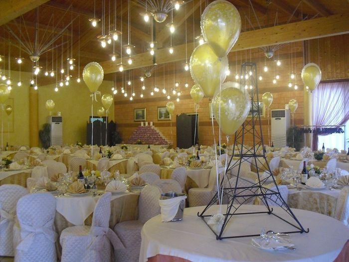 Decorazioni matrimonio fiabesco - palloncini - Organizzazione ...