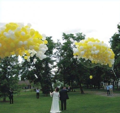 DECORAZIONI NUZIALI MATRIMONIO  palloncini , location esterno 3