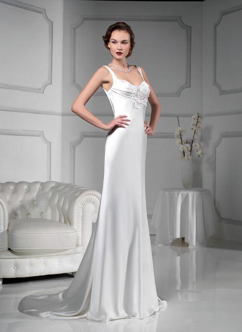 abito da sposa, stile sottoveste