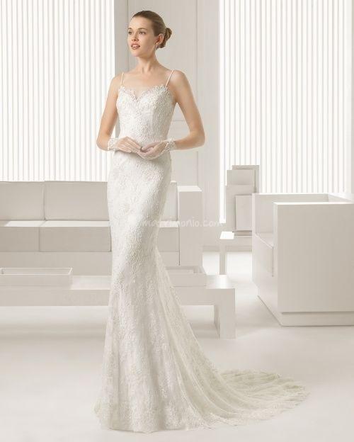 abito da sposa, stile sottoveste 3