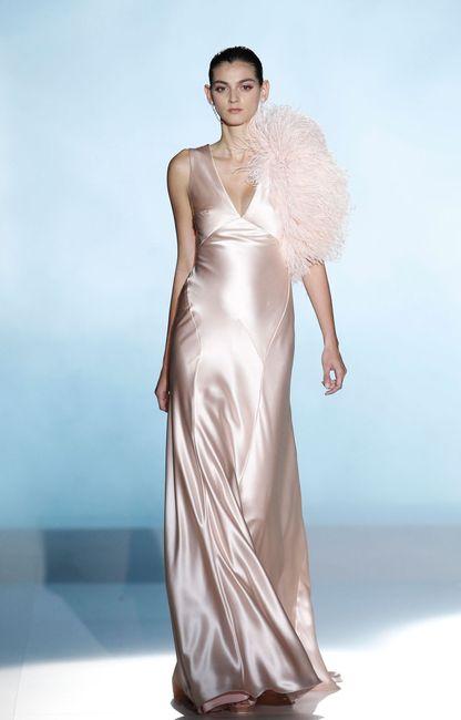 abito da sposa, stile sottoveste 8