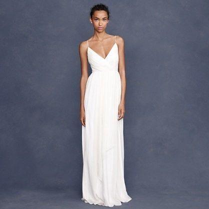 abito da sposa, stile sottoveste 12