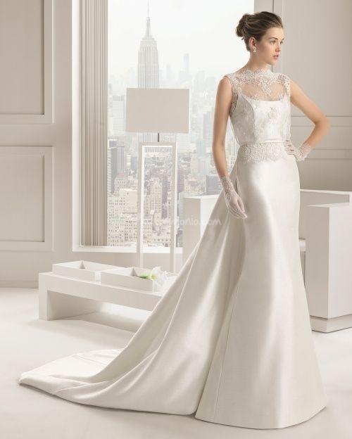 abito da sposa, stile sottoveste 13