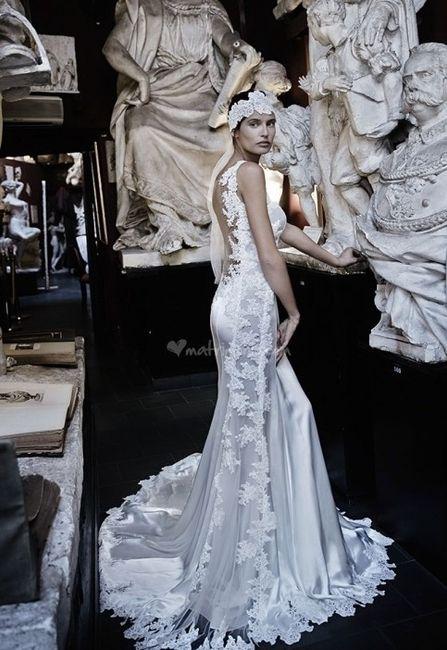 abito da sposa, stile sottoveste 16