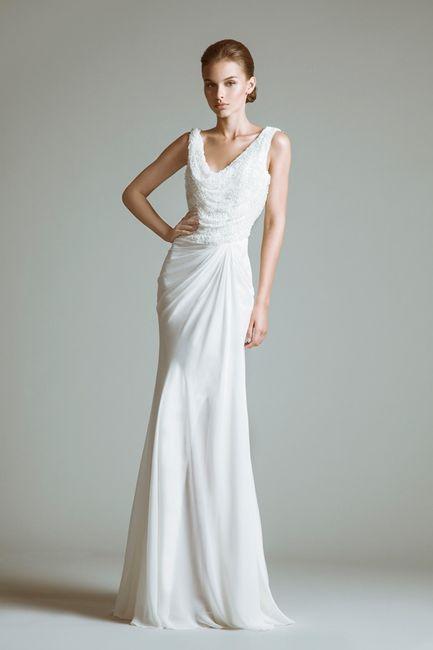 abito da sposa, stile sottoveste 18
