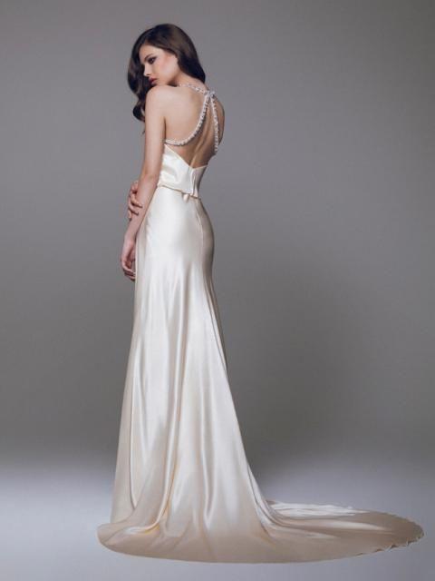 abito da sposa, stile sottoveste 15