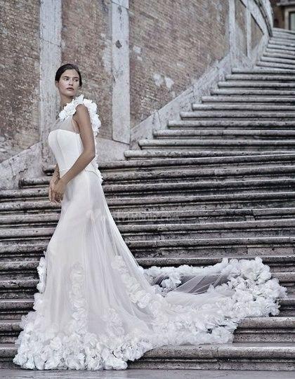 abito da sposa, stile sottoveste 21