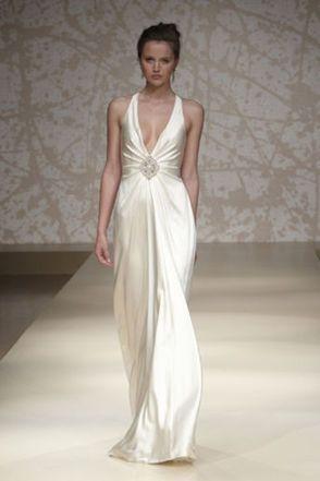 abito da sposa, stile sottoveste 22