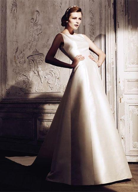 abito da sposa, stile redingote