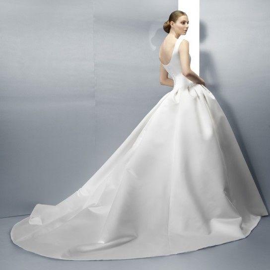 abito da sposa, stile redingote 1