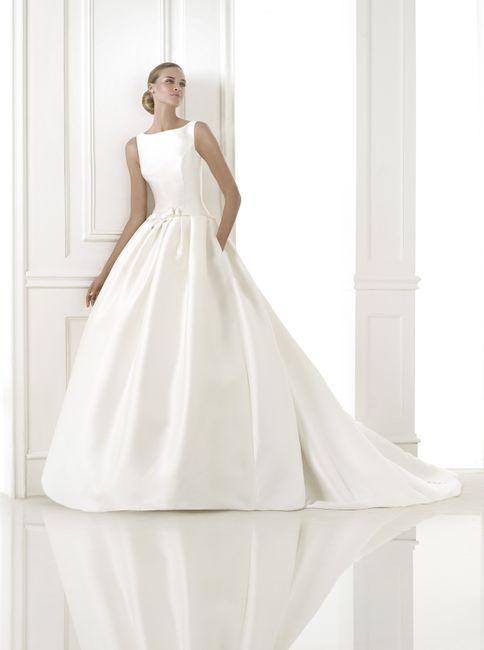 abito da sposa, stile redingote 0