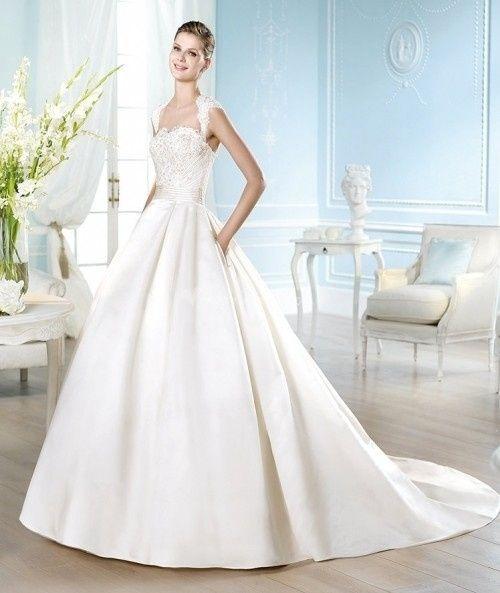 abito da sposa, stile redingote 2
