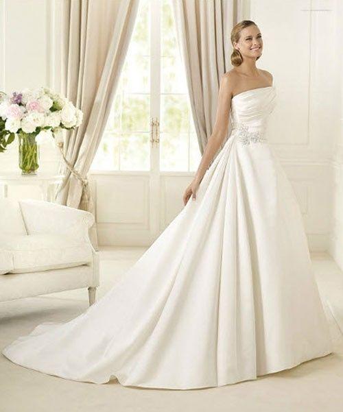 abito da sposa, stile redingote 7