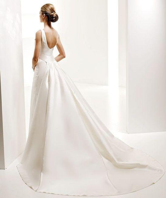 abito da sposa, stile redingote 8