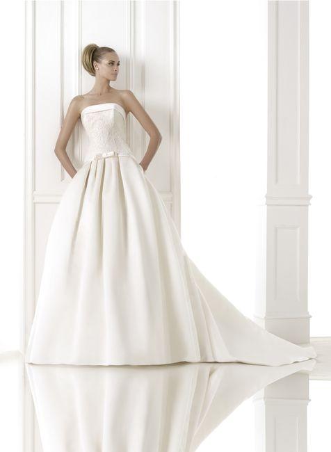 abito da sposa, stile redingote 13