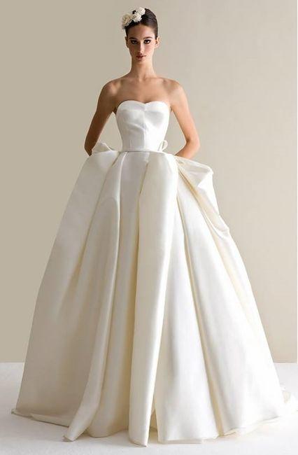 abito da sposa, stile redingote 14
