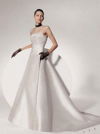 abito da sposa, stile redingote 15