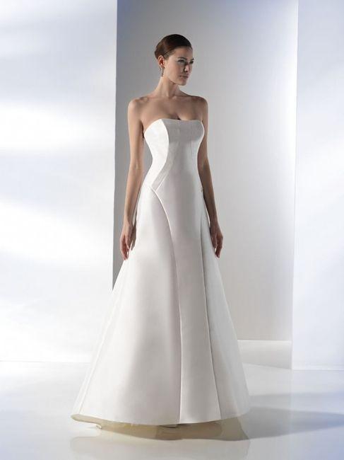 abito da sposa, stile redingote 16