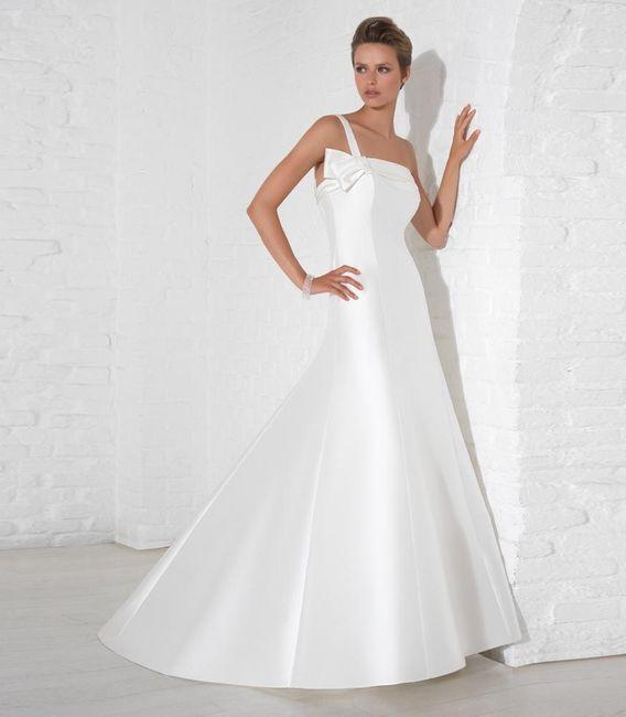 abito da sposa, stile redingote 18