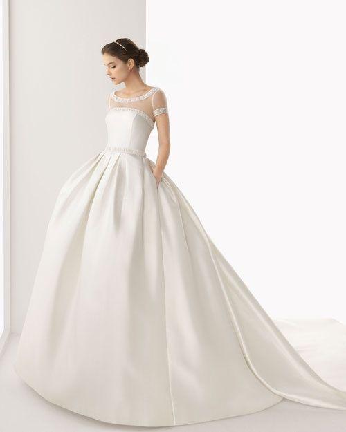 abito da sposa, stile redingote 21