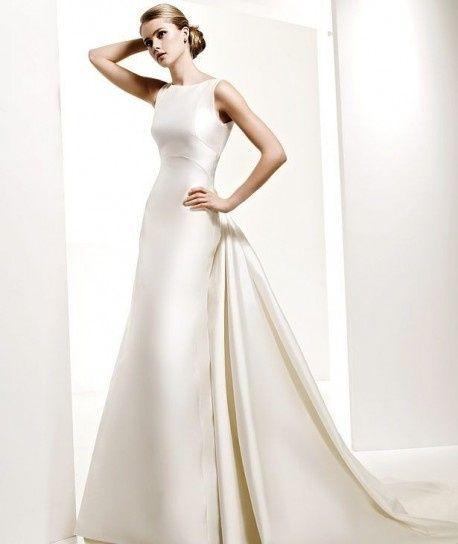 abito da sposa, stile redingote 22