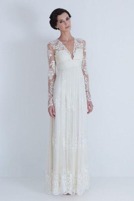 abito da sposa, stile tubino ,stile  colonna  3