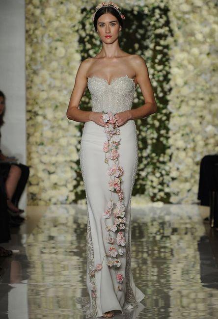 abito da sposa, stile tubino ,stile  colonna  8